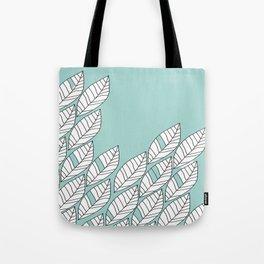 Leaves Stream 2 Tote Bag