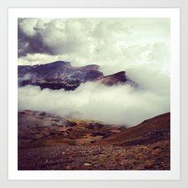 Heaven: Trail Ridge Road Colorado Art Print