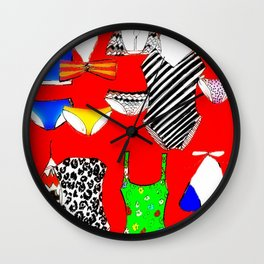 The Swimsuit Issue II Wall Clock