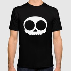 Skull SMALL Black Mens Fitted Tee