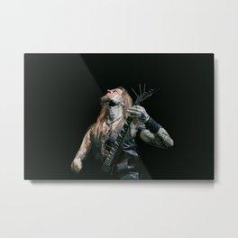 Belphegor #OnStagePortrait Metal Print