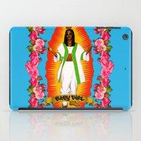aaliyah iPad Cases featuring Lady Aaliyah by Samantha Marie