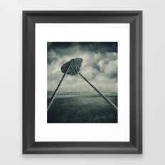 Go fly a kite Framed Art Print