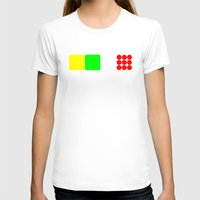 tour de france T-shirts featuring Tour de France Jerseys Alt 1 White by The Learning Curve Photography