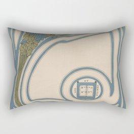 Yale Affiche Rectangular Pillow