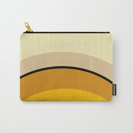 Mid Century Modern 70s Warm Tones Carry-All Pouch