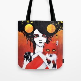 Fauna Goddess of Animals Tote Bag