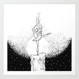 Burning Bright Art Print
