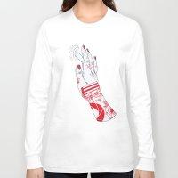 portal Long Sleeve T-shirts featuring Portal by scoobtoobins