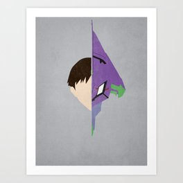 Shinji Art Print