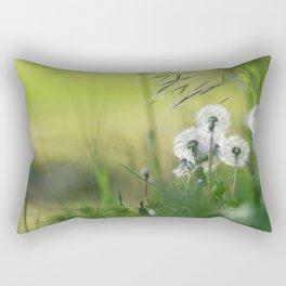 Dandelion Pattern Rectangular Pillow