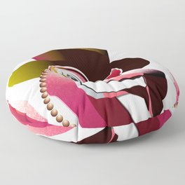 Party Flamingo Floor Pillow