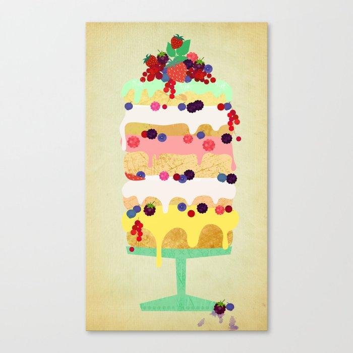 Fairy Cake Canvas Print