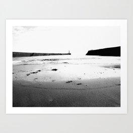 Harbour Beach Art Print