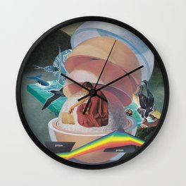 Open Book, Open World Wall Clock