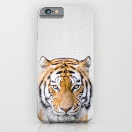 Tiger - Colorful iPhone Case