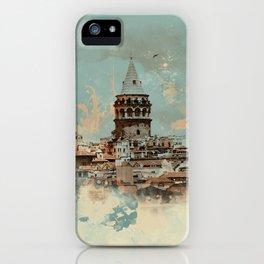 Galata Tower iPhone Case