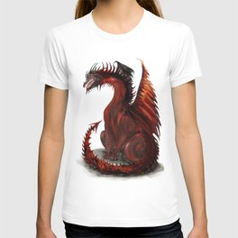 Challenger Lone Dragon Abstract T-shirt