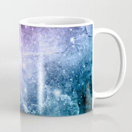 Purple Teal Galaxy Nebula Dream #4 #decor #art #society6 Coffee Mug