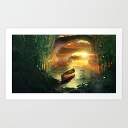 Precious Treasure Art Print