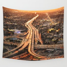 junction in los angeles Wall Tapestry
