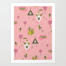 Camp Wichita Girls Art Print