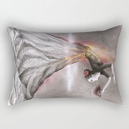 Dancing Volcano Rectangular Pillow
