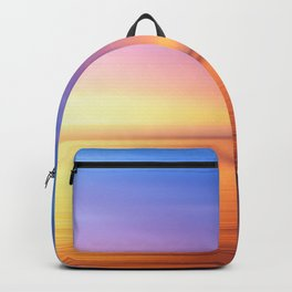 Abstract Sunset IV Backpack