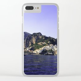 Jewel of the sea Clear iPhone Case