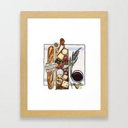Pardon My French Framed Art Print