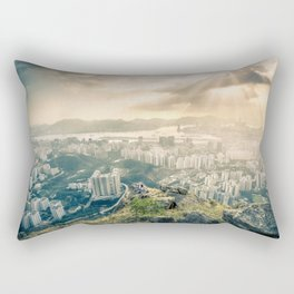 Hey look! It's our city! Rectangular Pillow