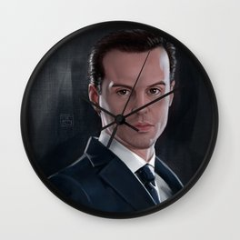 The Consulting Criminal Wall Clock