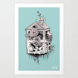 Housewarming Art Print