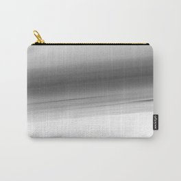 Gray Smooth Ombre Carry-All Pouch