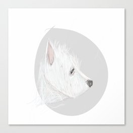 Terrier of the West Canvas Print