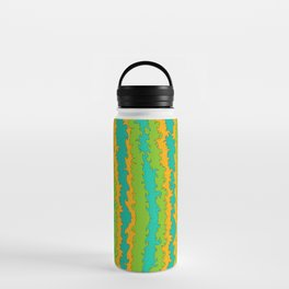 Flame Print Water Bottle