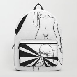 Lips by riendo Backpack