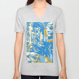 Fields of Blue Unisex V-Neck