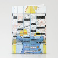 guitar Stationery Cards featuring Guitar by Nimai VandenBos