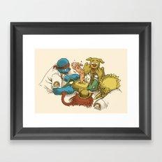 Open Sesame Framed Art Print