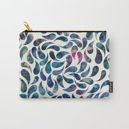 Swirl of Painted Drops Carry-All Pouch