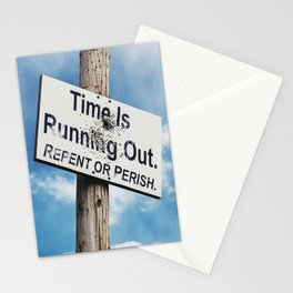 Repent or Perish Stationery Cards