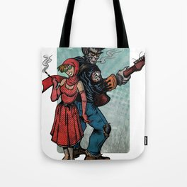 Ginny & Clutch (Little Red Riding Hood Reloaded) Tote Bag