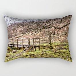 Falloch Footbridge Rectangular Pillow