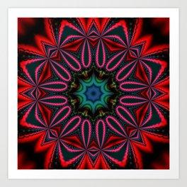 kaleidoscopic pattern -04- Kunstdrucke