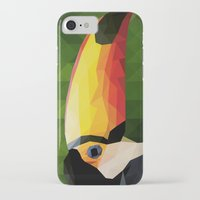 toucan iPhone & iPod Cases featuring toucan by gazonula