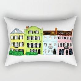 Rainbow Row Rectangular Pillow