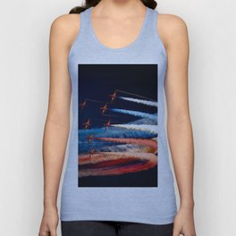 BEAUTIFUL AIRPLANE FORMATION1 Unisex Tank Top