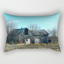 Old Grey Barn No.1 Rectangular Pillow