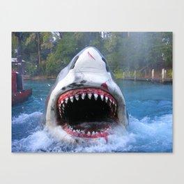 Shark Attack III! Canvas Print